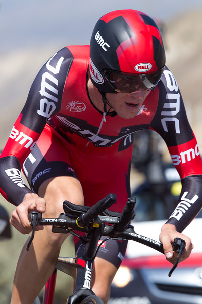 Tejay Van Garderen rode to a podium spot today - taking third place at 34 seconds.