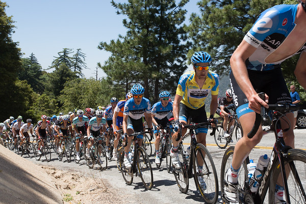 Meanwhile, back in the shrinking peloton, Zabriskie and the other heads of state are all more concerned with eachother.