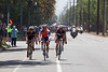 The attacks start early; Voigt, Matthews and Bontrager LIVESTRONG's Nathan Brown are the genisis of the escape...