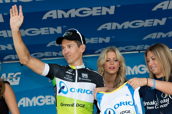 Robbie McEwan was visibly moved on the podium as he accepted the last jersey of his career, the Breakaway from Cancer Most Courageous. Thank you Robbie for years of great racing!