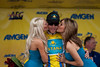 Levi and the podium girls...