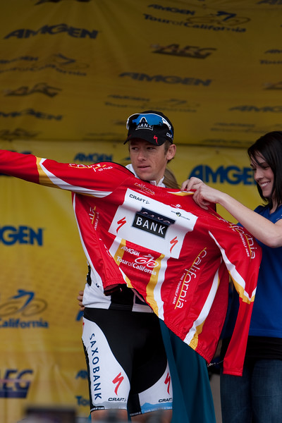 With Mancebo's crash today, Jason McCartney in the KOM jersey...