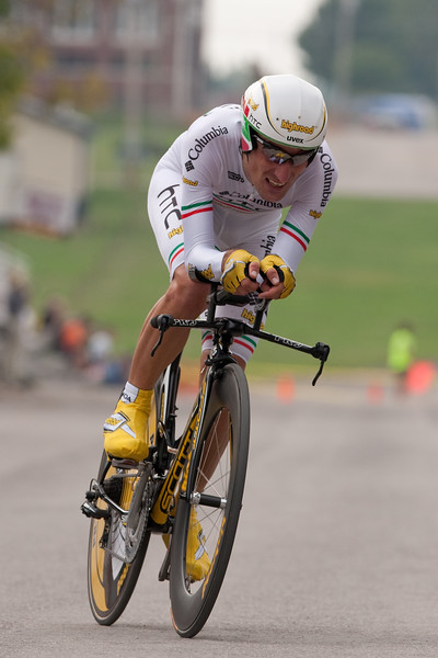 Italian national TT champ Pinotti just missed the podium at 4th on the day.