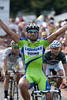 Francesco Chicchi orchestrated another win in the Tour of Missouri - he won the final stage last year.