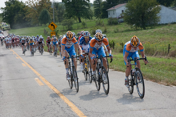 Garmin was on the front most of the day protecting Zabreski's lead.