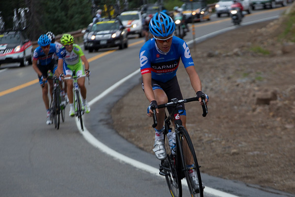 Nibali, Stetina and Beltran will soon bridge back up to Danielson.