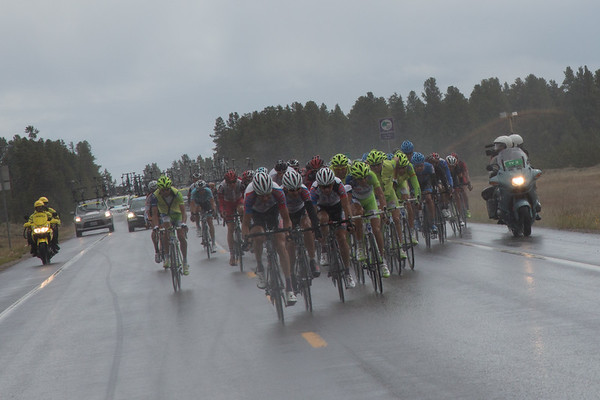 Rus Velo has come to the front, they are hoping to keep Ivan Rovny in his top three GC position...
