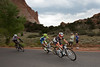 The day has been far from slow, averaging almost 29 mph for the day to this point, the remains of the escape ride through Garden of the Gods with Oliver Zaugg leading the way.
