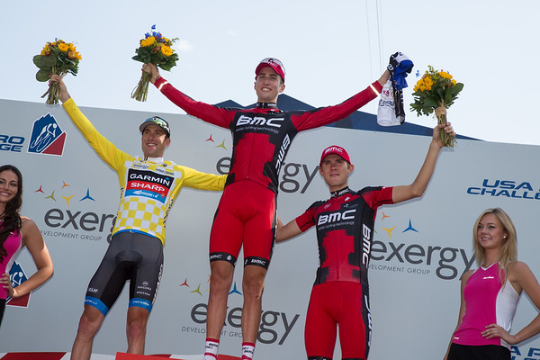 Your stage podium: Phinney, Vandevelde and van Garderen.