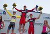 Your stage podium: Phinney, Vandevelde and van Garderen.