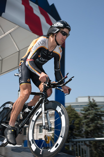 Tob Zerbel had a great finish, just outside the top five; he took 6th place at 31 seconds back.