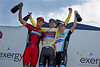 Your overall podium: Vandevelde, van Garderen and Leipheimer.