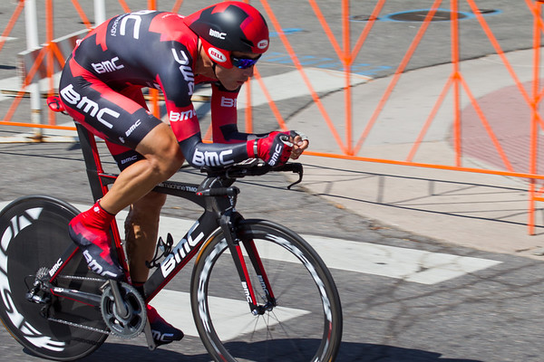 George Hincapie finished 23rd in the last stage of his last race as a professional at 1:03.