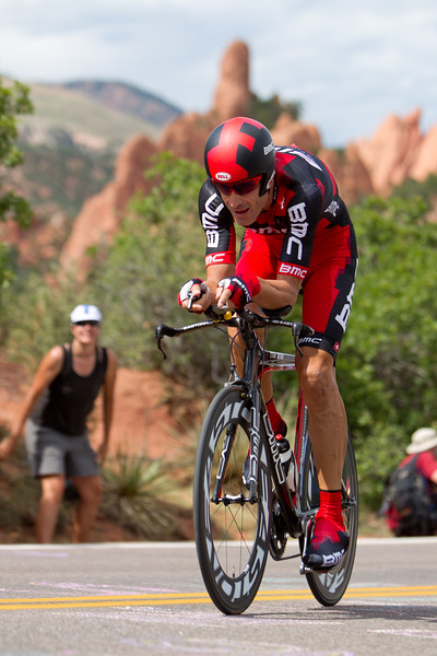 George Hincapie was giving it all in this prologue - clocking in at 6th place, also just seven seconds off the pace.