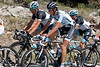 Andy Schleck seemed to be enjoying his chat with fellow Luxemburger, Laurent Didier.