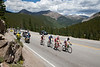 The break didn't take the time to admire the view as they climbed Monarch pass.