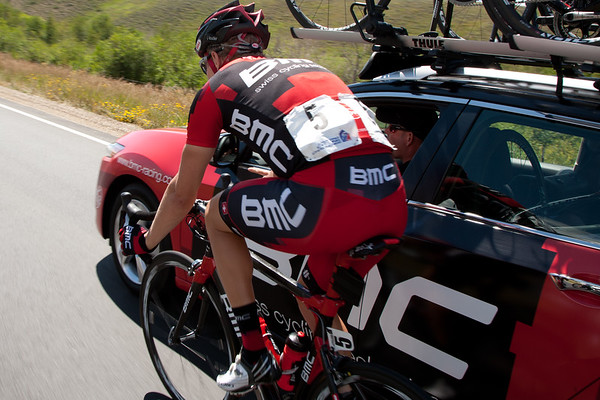 Louder at the team car...