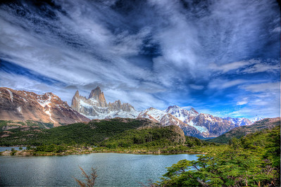 Lago Capri with Mt. Fitz Roy