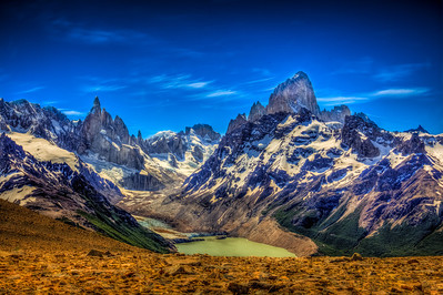 Mt. Fitz Roy and Cerro Torre
