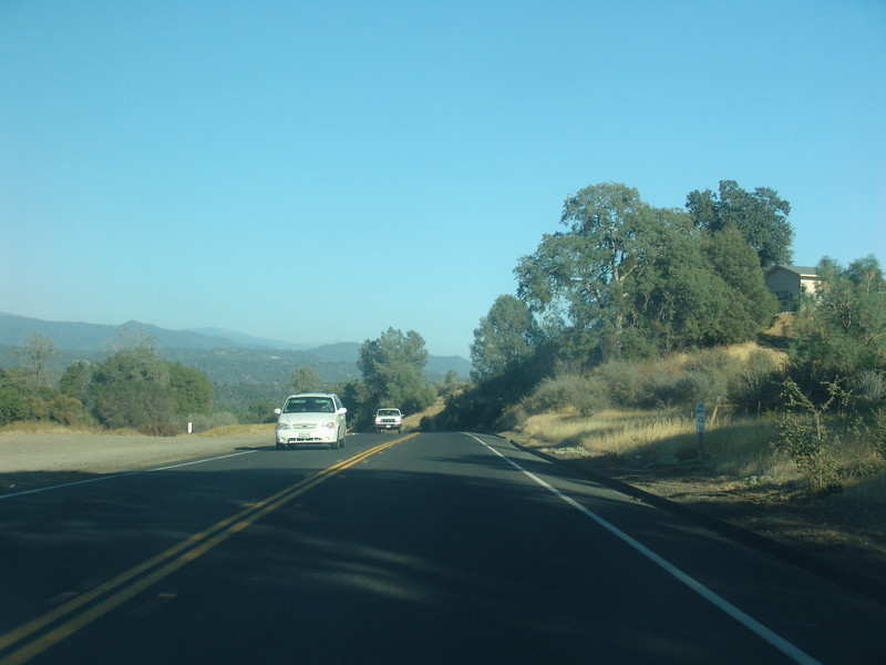 Coming out of town 1.5 miles about .5 miles from Indian Pk. rd. Hwy 49 S towards Oakhurst.