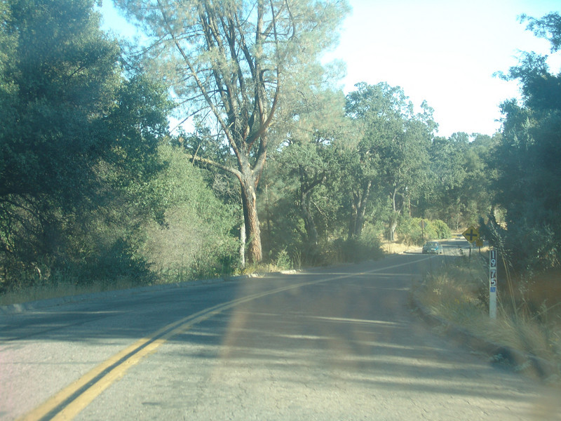 Right after you turn right on Indian peak. 19 75 means it's 19 .75 miles down that rd to the county line, the yellow cross is Sebastopol rd.