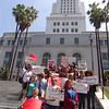 La City Hall Medical Marijuana Demonstration.