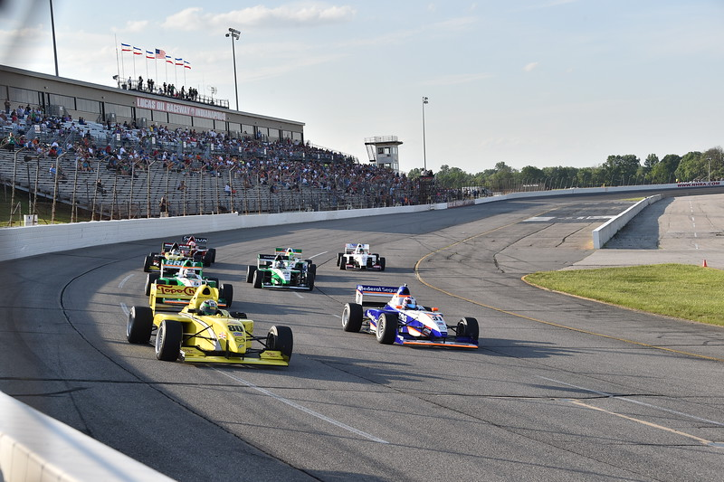 Tras un año de ausencia, Pro Mazda y USF2000 volverán al Lucas Oil Raceway (FOTO: Chris Owens/IMS Photo/Road to Indy)