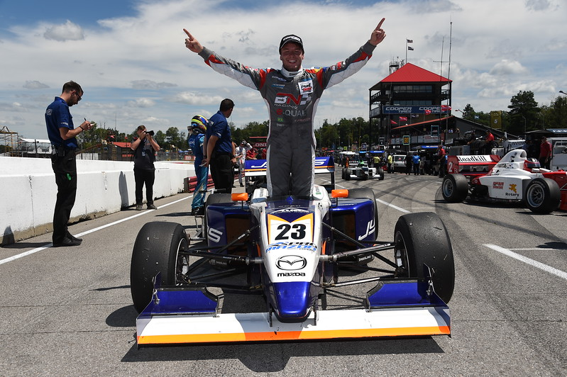El brasileño Victor Franzoni ha sumado cuatro triunfos en el certamen de Pro Mazda (FOTO: Chris Owens/IMS Photo/Road to Indy)
