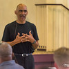 Professional athletes and business professionals gather to hear from Tony Dungy during the 2015 Pro Summit.