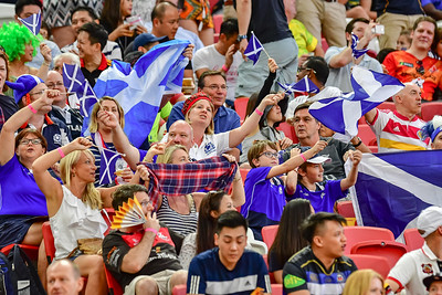 Plenty of support for Scotland
