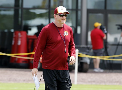 2015 Redskins TC Day 2 Afternoon
