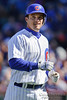 18 April 2010:  Chicago Cubs shortstop Ryan Theriot (2) during the game between the Houston Astros and Chicago Cubs at Wrigley Field in Chicago, Illinois.  Mandatory Credit: John Rowland / Southcreek Global