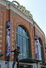 10 April 2010:  The exterior of Miller Park prior to the game between the St. Louis Cardinals and Milwaukee Brewers at Miller Park in Milwaukee.  The Cardinals defeated the Brewers 7-1.  Mandatory Credit: John Rowland / Southcreek Global