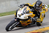 04 June 2010:  Danny Eslick (1) on his Geico Motorsports/RMR Suzuki GSX-R600 during the Pro Daytona Sportbike practice session.  AMA Suzuki SuperBike Doubleheader held at Road America, Elkhart Lake, Wisconsin.<br /> Mandatory Credit: John Rowland / Southcreek Global