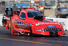 06 June 2010:  Bob Tasca heads to a 1st round win in his Motorcraft / Quick Lane Mustang Top Fuel funny car.  NHRA Route 66 Nationals held at Route 66 Raceway, Joliet, Illinois.<br /> Mandatory Credit: John Rowland / Southcreek Global