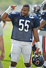 5 August 2010:  Chicago Bears linebacker Lance Briggs (55) during the Bears training camp practice at Olivet Nazarene University in Bourbonnais, IL.<br /> Mandatory Credit - John Rowland / Southcreek Global