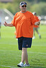 5 August 2010:  Chicago Bears Offensive Coordinator Mike Martz during the Bears training camp practice at Olivet Nazarene University in Bourbonnais, IL.<br /> Mandatory Credit - John Rowland / Southcreek Global