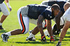 5 August 2010:  Chicago Bears defensive end Juilus Peppers (90) during the Bears training camp practice at Olivet Nazarene University in Bourbonnais, IL.<br /> Mandatory Credit - John Rowland / Southcreek Global