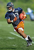 21 May 2010:  Wide receiver Juaquin Iglesias (17) runs up field after making a catch during the Chicago Bears minicamp practice at Halas Hall in Lake Forest, Illinois.<br /> Mandatory Credit - John Rowland / Southcreek Global