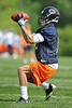 21 May 2010:  Wide receiver Johnny Knox (13) makes a catch during the Chicago Bears minicamp practice at Halas Hall in Lake Forest, Illinois.<br /> Mandatory Credit - John Rowland / Southcreek Global