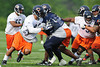 21 May 2010:  Defensive end Julius Peppers (90) rushes the passer during the Chicago Bears minicamp practice at Halas Hall in Lake Forest, Illinois.<br /> Mandatory Credit - John Rowland / Southcreek Global