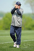 21 May 2010:  Offensive Coordinator Mike Martz shouts instructions during the Chicago Bears minicamp practice at Halas Hall in Lake Forest, Illinois.<br /> Mandatory Credit - John Rowland / Southcreek Global