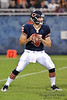 Chicago Bears quarterback Dan LeFevour (15) sets to throw during the preseason game between the Chicago Bears and the Oakland Raiders at Soldier Field in Chicago, IL. The Raiders defeated the Bears 32-17. <br /> Mandatory Credit: John Rowland / Southcreek Global