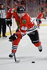 Chicago center Patrick Kane (88) during the NHL game between the Chicago Blackhawks and the Dallas Stars at the United Center in Chicago, IL. The Blackhawks defeated the Stars 5-2.