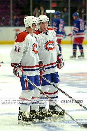 2005-10-31 Mark Streit & Saku Koivu - Canadiens