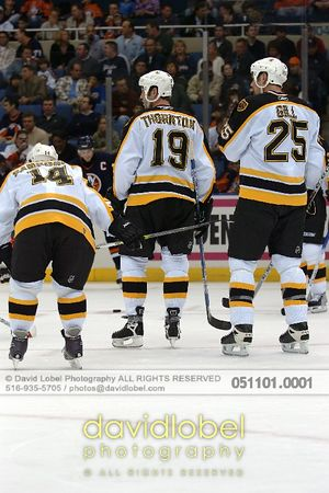 2005-11-01 Joe Thornton and the Boston Bruins