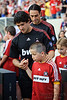 30 May2010:  AC Milan forward Alexandre Pato (7) prior to the friendly match between the Chicago Fire and AC Milan at Toyota Park in Bridgeview, Illinois.  AC Milan defeated the Fire 1-0.<br /> Mandatory Credit: John Rowland / Southcreek Global