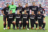 30 May2010:  AC Milan poses for the team photo prior to the start of the friendly match between the Chicago Fire and AC Milan at Toyota Park in Bridgeview, Illinois.  AC Milan defeated the Fire 1-0.<br /> Mandatory Credit: John Rowland / Southcreek Global