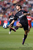 30 May2010:  AC Milan forward Alexandre Pato (7) tries to control a long pass during the friendly match between the Chicago Fire and AC Milan at Toyota Park in Bridgeview, Illinois.  AC Milan defeated the Fire 1-0.<br /> Mandatory Credit: John Rowland / Southcreek Global