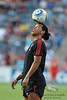 30 May2010:  AC Milan midfielder Ronaldinho (80) balances the ball on his head while doing tricks prior to the friendly match between the Chicago Fire and AC Milan at Toyota Park in Bridgeview, Illinois.  AC Milan defeated the Fire 1-0.<br /> Mandatory Credit: John Rowland / Southcreek Global